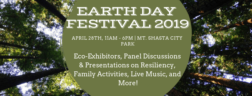 MSBEC, Mount Shasta Bioregional Ecology Center, Earth Day Mount Shasta | faerwear