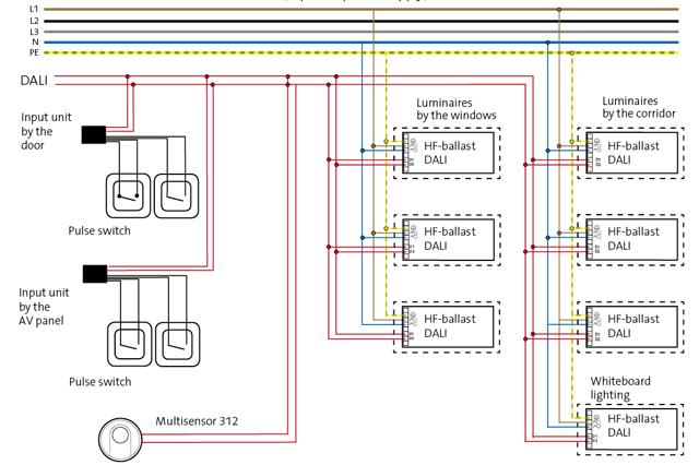 fagerhult_klassrum_dali_digidim_eng lighting control wiring diagram facbooik com,Lighting Control Panel Wiring Diagram