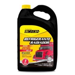 refrigerante para diesel rojo