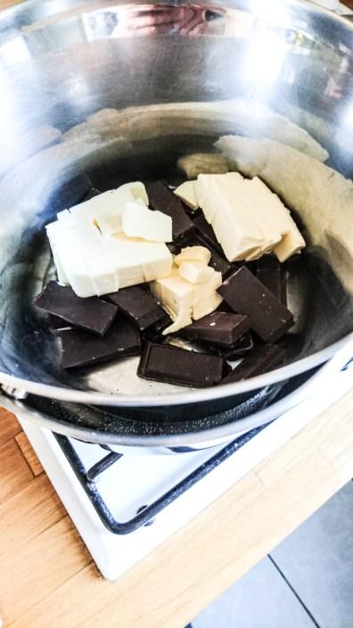 bain marie beurre chocolat