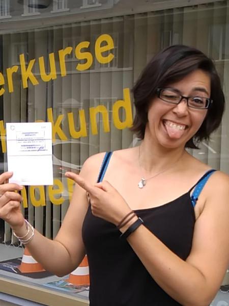Praktische Führerprüfung - Melanie - 18.06.2019