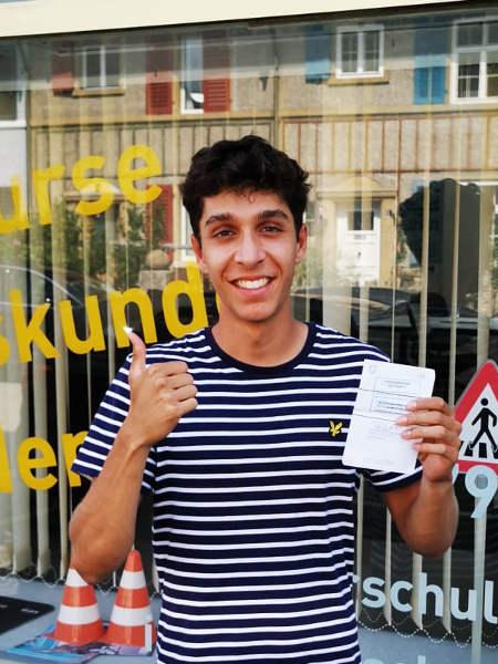 Praktische Führerprüfung - David - 30.08.2019
