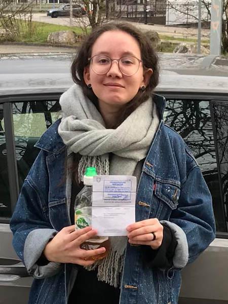 Praktische Führerprüfung - Elena - 03.01.2020
