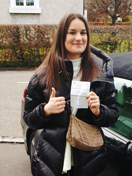 Praktische Führerprüfung - Simone - 03.12.2020
