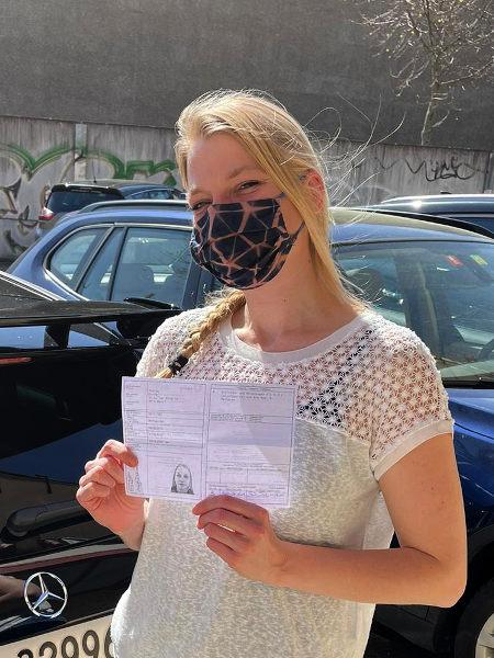 Praktische Führerprüfung - Dunja - 30.03.2021