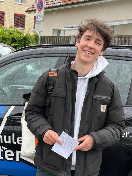 Praktische Führerprüfung - Florian - 21.05.2021