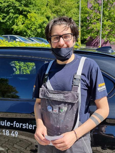Praktische Führerprüfung - Samuele - 28.05.2021