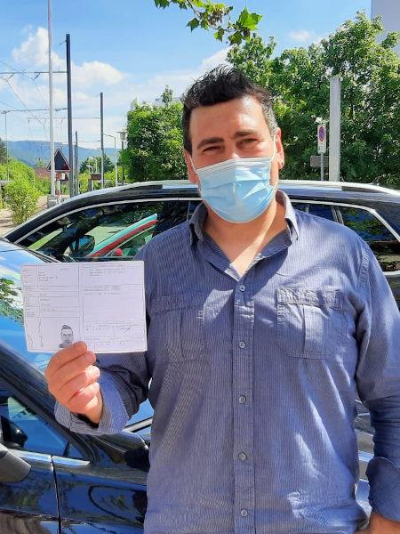 Praktische Führerprüfung - Manuel - 03.06.2021