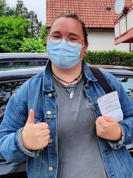 Praktische Führerprüfung - Corina - 07.06.2021