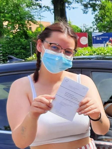 Praktische Führerprüfung - Larissa - 15.06.2021