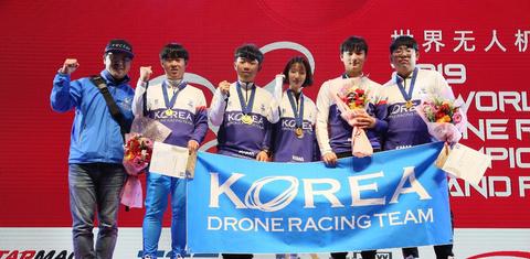 Korea Wins Drone Racing Championship In China