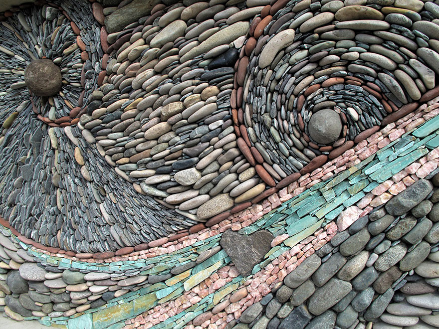 Muri Di Pietra A Mosaico