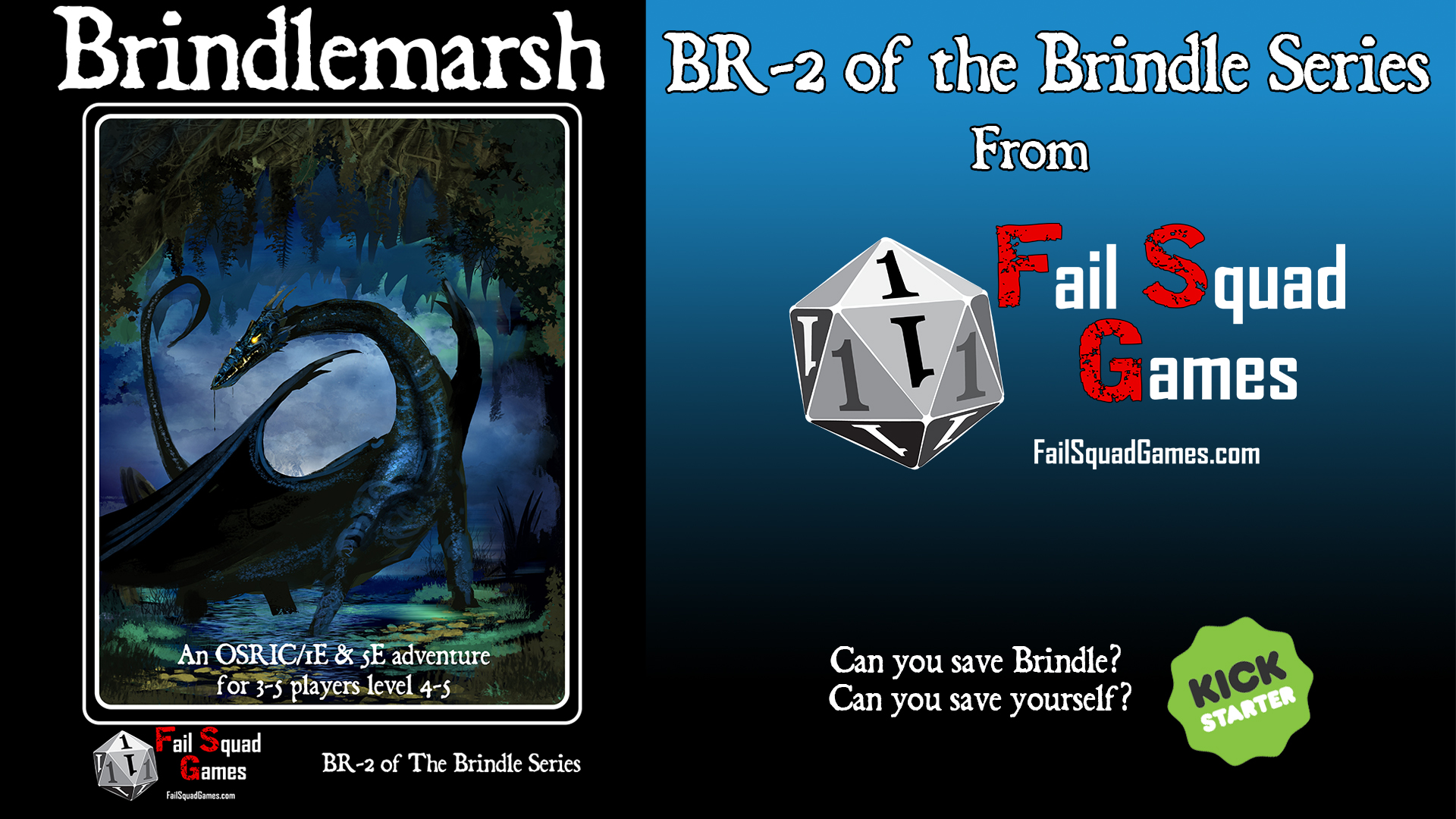 Brindlemarsh is live!