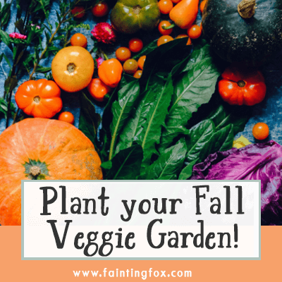 fall garden vegetables