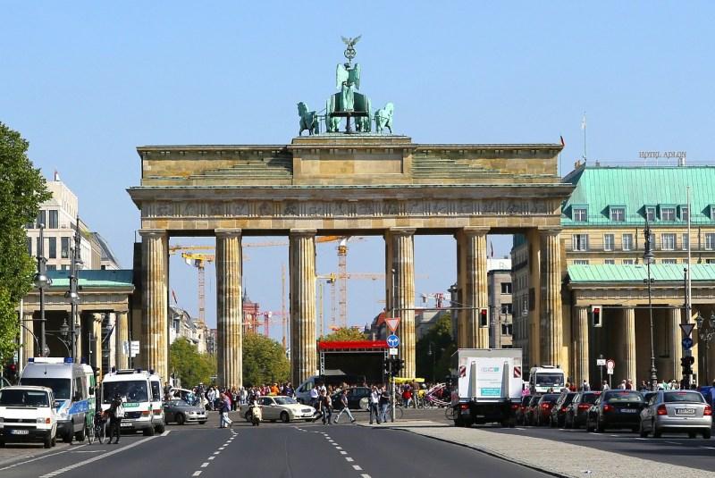 berlin, brandenburg gate, landmark