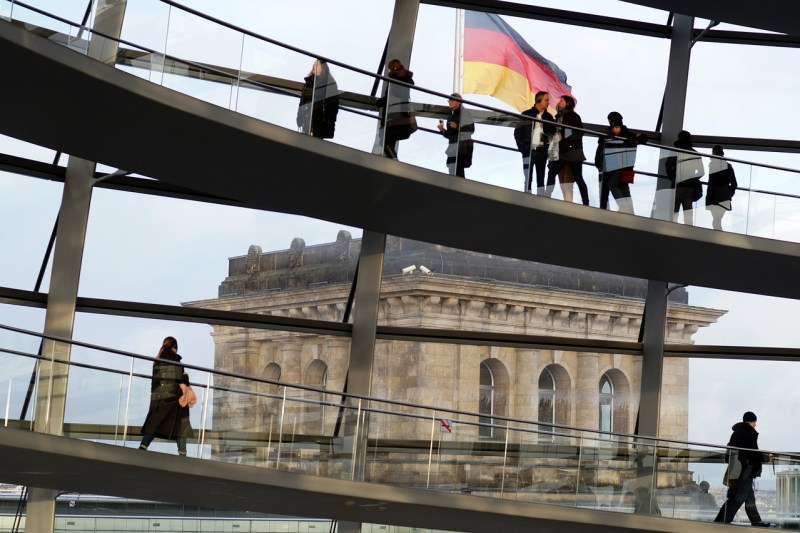 berlin, the reichstag, people