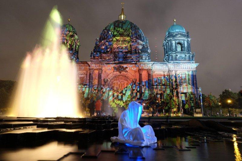 art, berlin, fountain