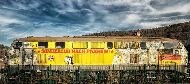 loco, train, locomotive