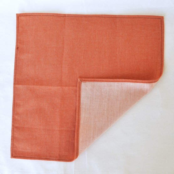 Fair - mouchoir en chambray roux