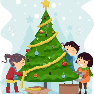 The 1st Annual Fairbrae Holiday Family Tree Decoration Project