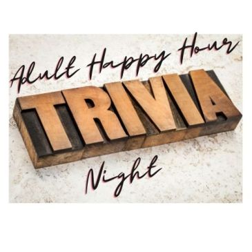 Adult Happy Hour Trivia Night