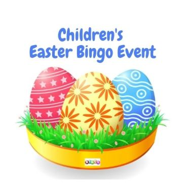 Children's Virtual Easter Bingo Event
