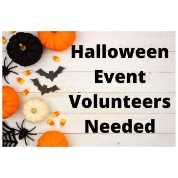 Halloween Decorating & Event Volunteer Opportunities