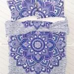 Purple Floral Bedding Sets Blue Purple Hippie Boho Bedding Set And Pillow Cases
