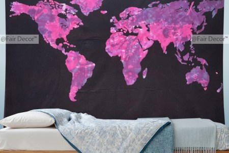 Map Wall Hanging Free Wallpaper For MAPS Full Maps - Cloth world map wall hanging