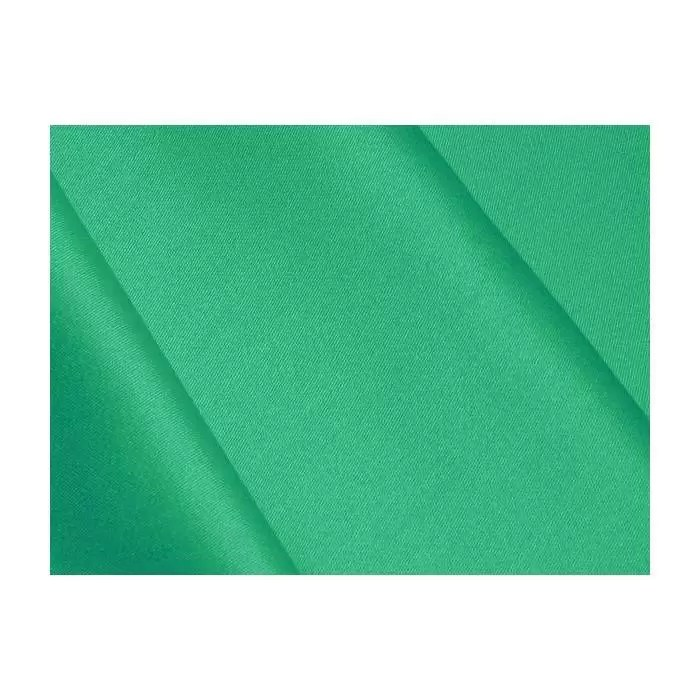 tissu satin de coton vert emeraude