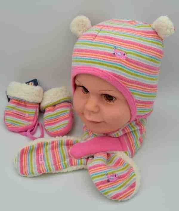 Baby Wintermützenset