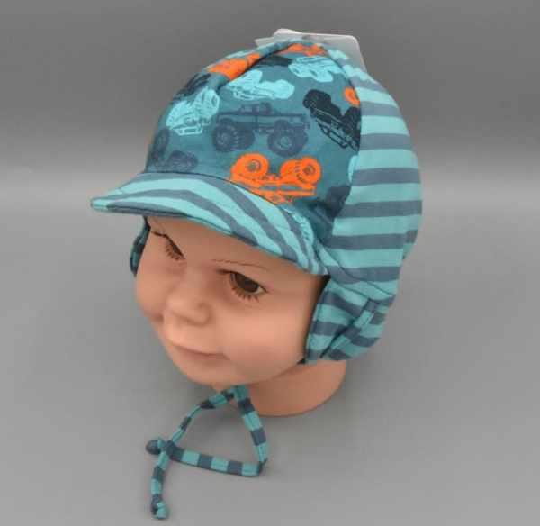 Babymütze-Sommer Monstertrucks