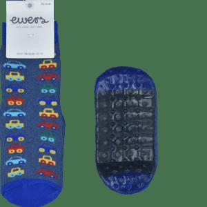 EWERS Kinder ABS-Vollsohle-Socke Auto