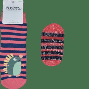 EWERS Kinder ABS Vollsohle Socke Igel