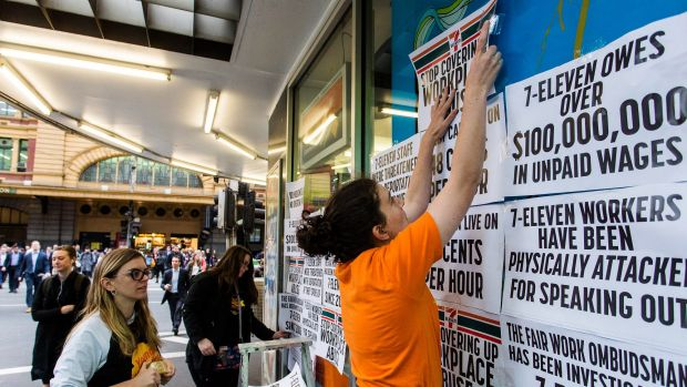 7-Eleven is a high-profile offender subject to a massive crackdown by the Fair Work Ombudsman.