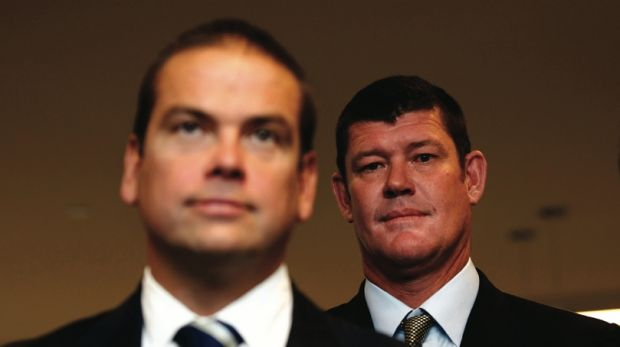 Lachlan Murdoch and James Packer have both registered as unsecured creditors of Network Ten over debts of $11 million each.