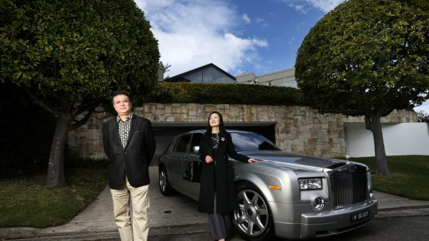 Prestige agents Sydney Sotheby's have invested in a new larger Rolls Royce to take buyers on a property tour.