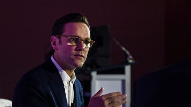 James Murdoch, chief executive of 21st Century Fox.