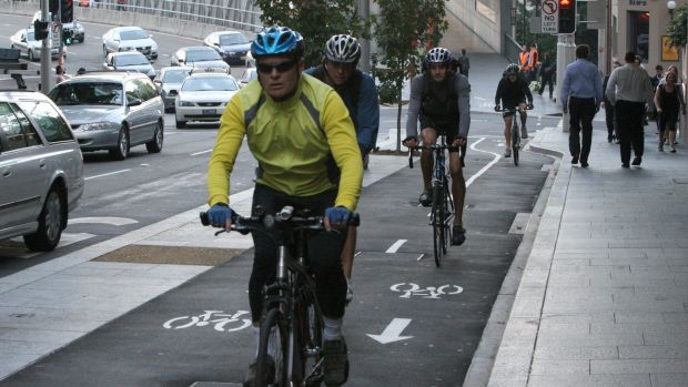 About $1 million in this year's budget will go to cycleways in Sydney's CBD.