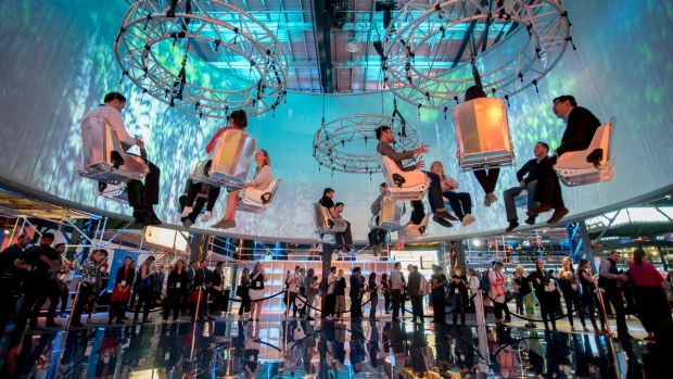 The sky meetings at the C2 Montreal business conference, which is coming to Melbourne later this year.