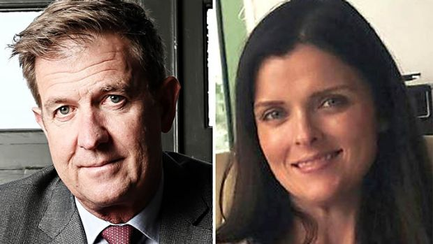 Former lovers: Seven Network chief executive Tim Worner and Amber Harrison.