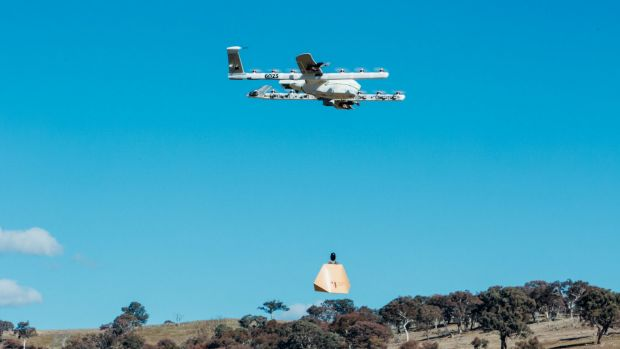 Project Wing recently started conducting drone testing around Googong.