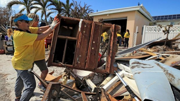 Hurricane Irma wreaked havoc in the Caribbean and Florida.