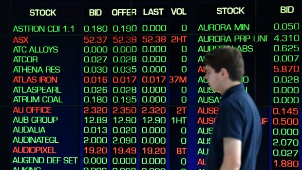 For the week, the S&P/ASX 200 rose 1.8 per cent, its best week in percentage terms since the last week of March.