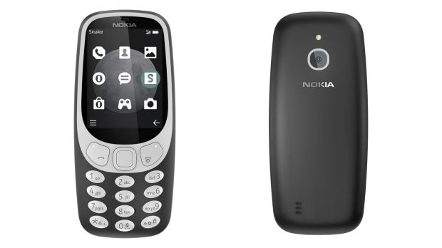 The 3G 3310 looks a lot like the original from the early 2000s, but with a more modern screen.