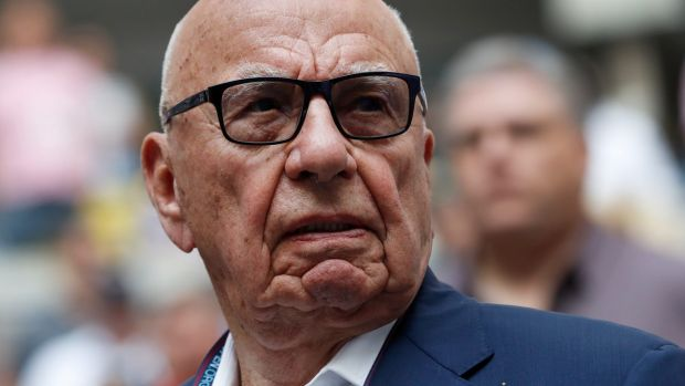 "Australian media mogul Rupert Murdoch called Donald Trump a ""f---ing idiot,"" according to an explosive new book."