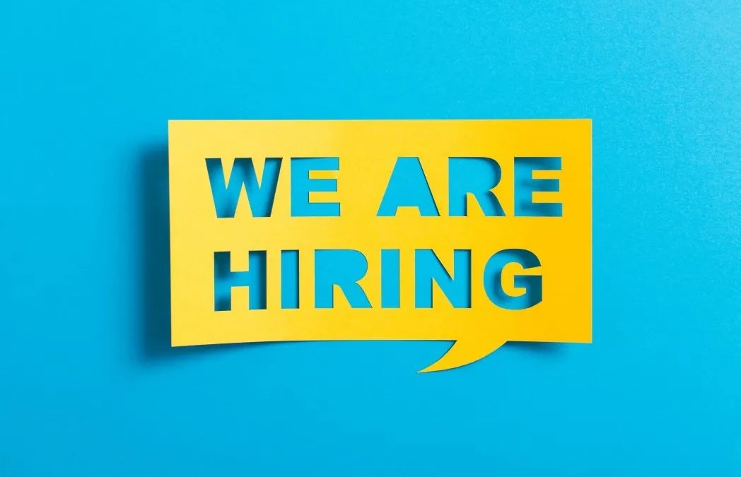 We Are Hiring…..