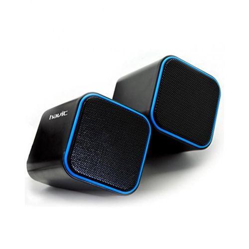 Havit USB Multimedia Speakers 2pcs - Black/Blue