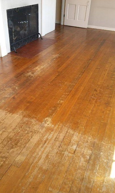 Traditional Hardwood Floor Sanding Is A Very Dusty Process But Did