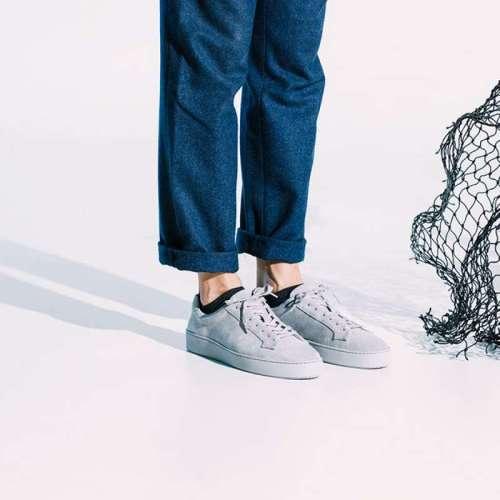 Sneakersokken Puffer van Healthy Seas Socks